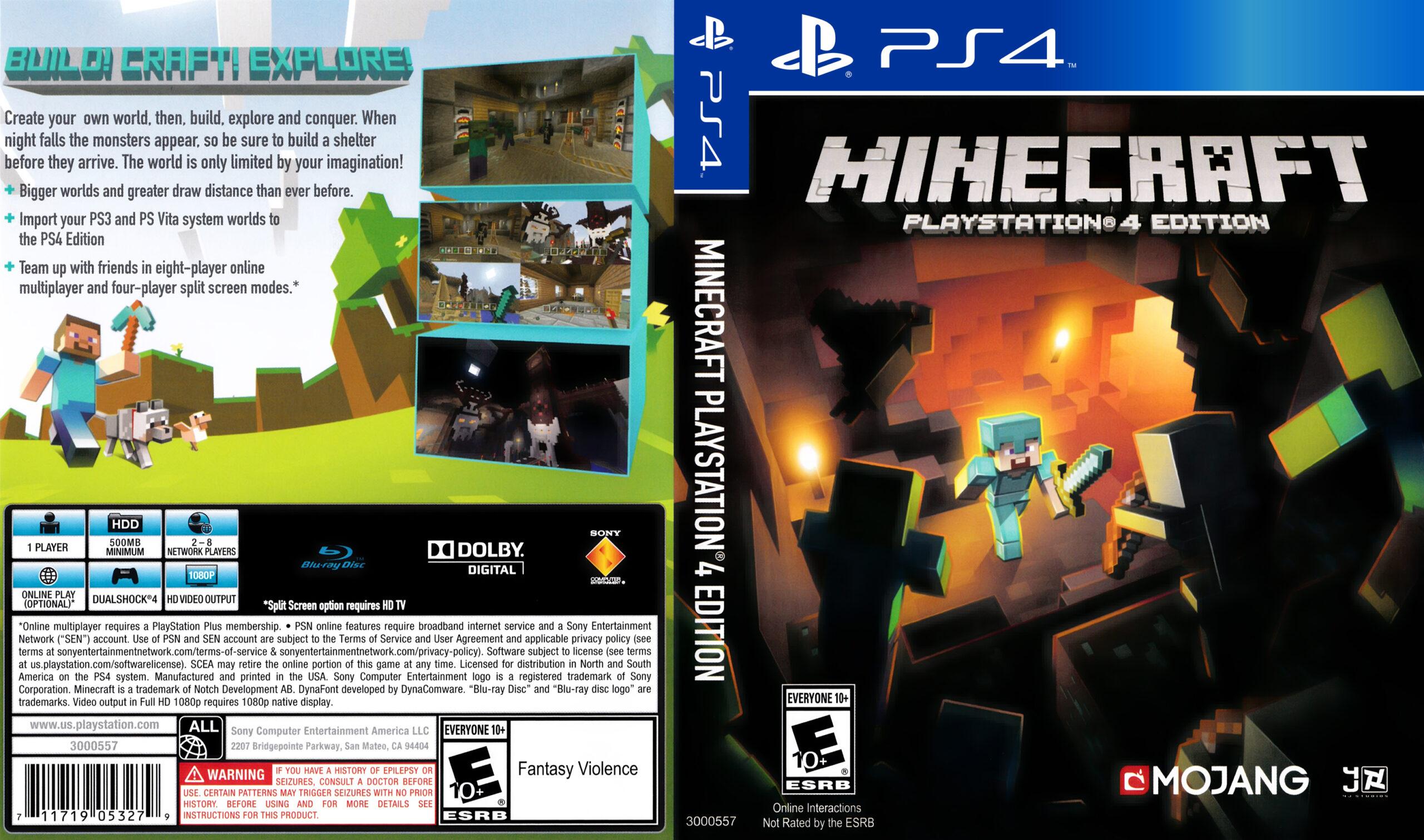 Minecraft – PlayStation 4 Edition
