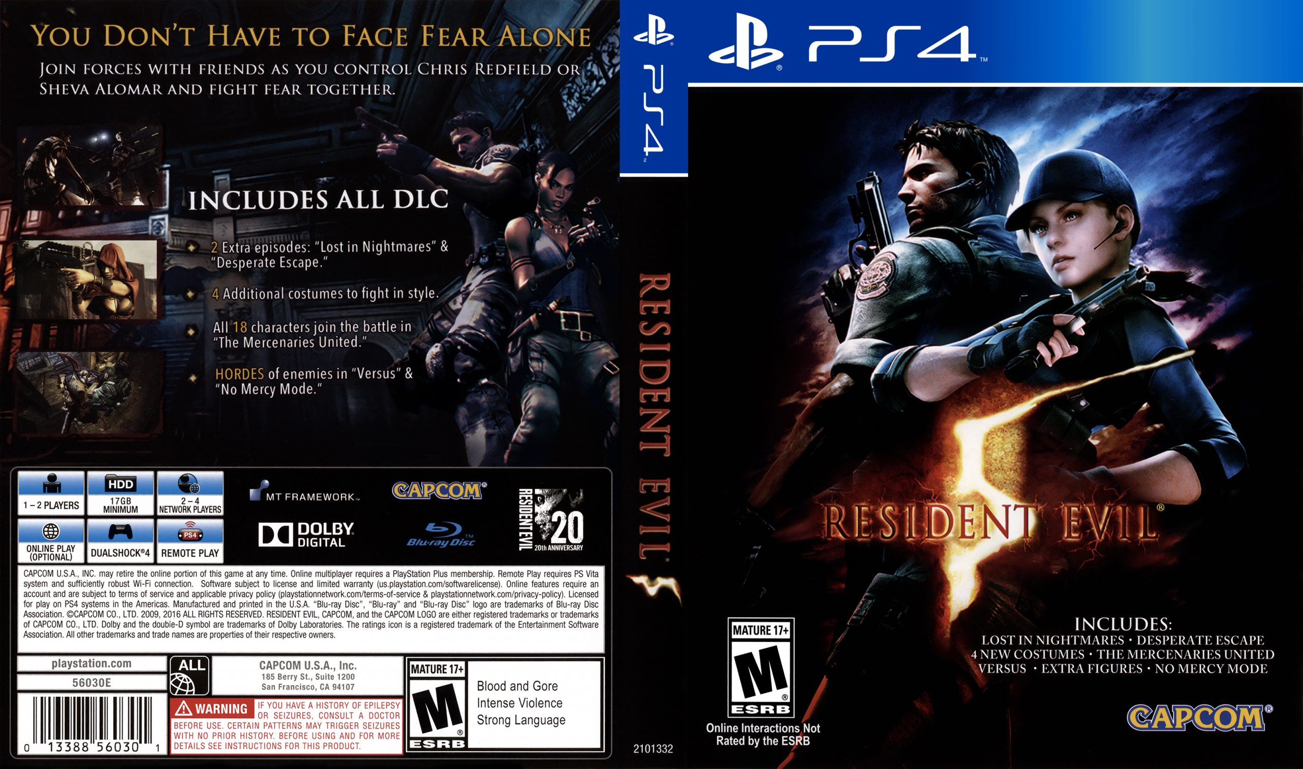 resident evil 5 all characters